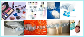 Cosmetics: For Cream / Tooth Pate/ Gel/ Talcum Powder Manufacturing