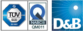 ISO 9001:2008 UKAS Certified by NQA, UK.